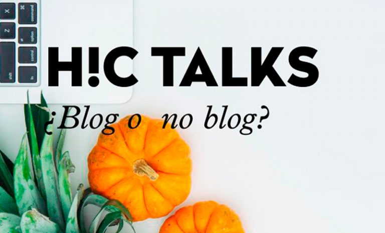 Imagen portada #hctalks: blog o no blog