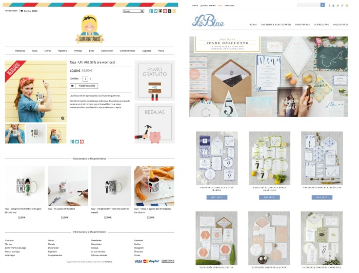 Disena tu tienda online II