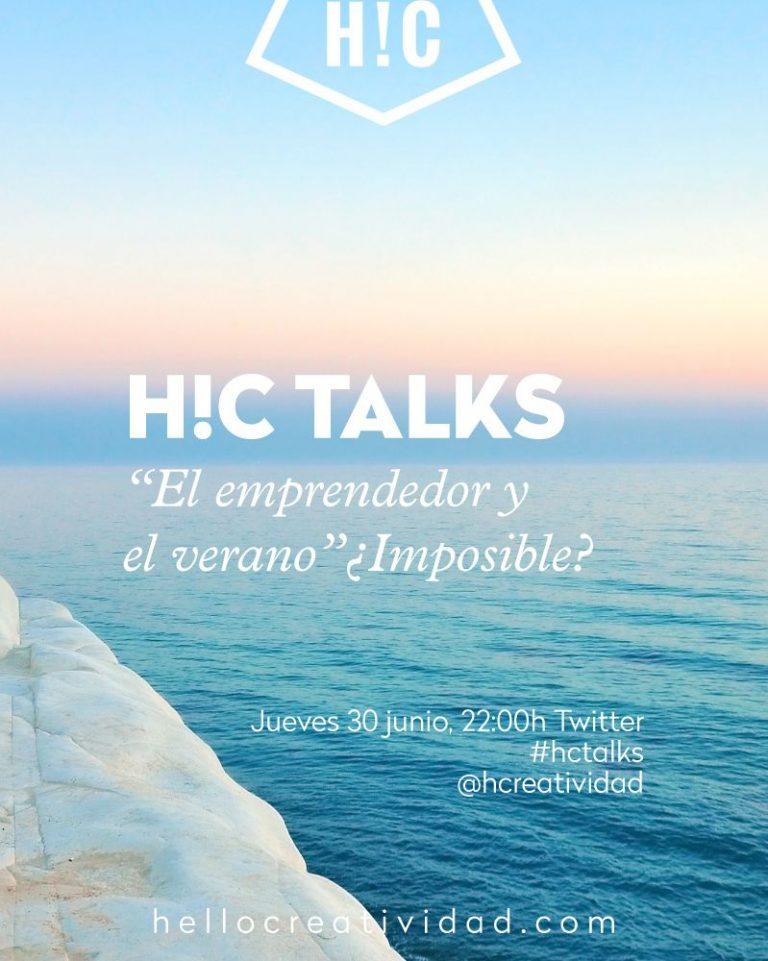 Imagen portada #hctalks: Verano y emprender
