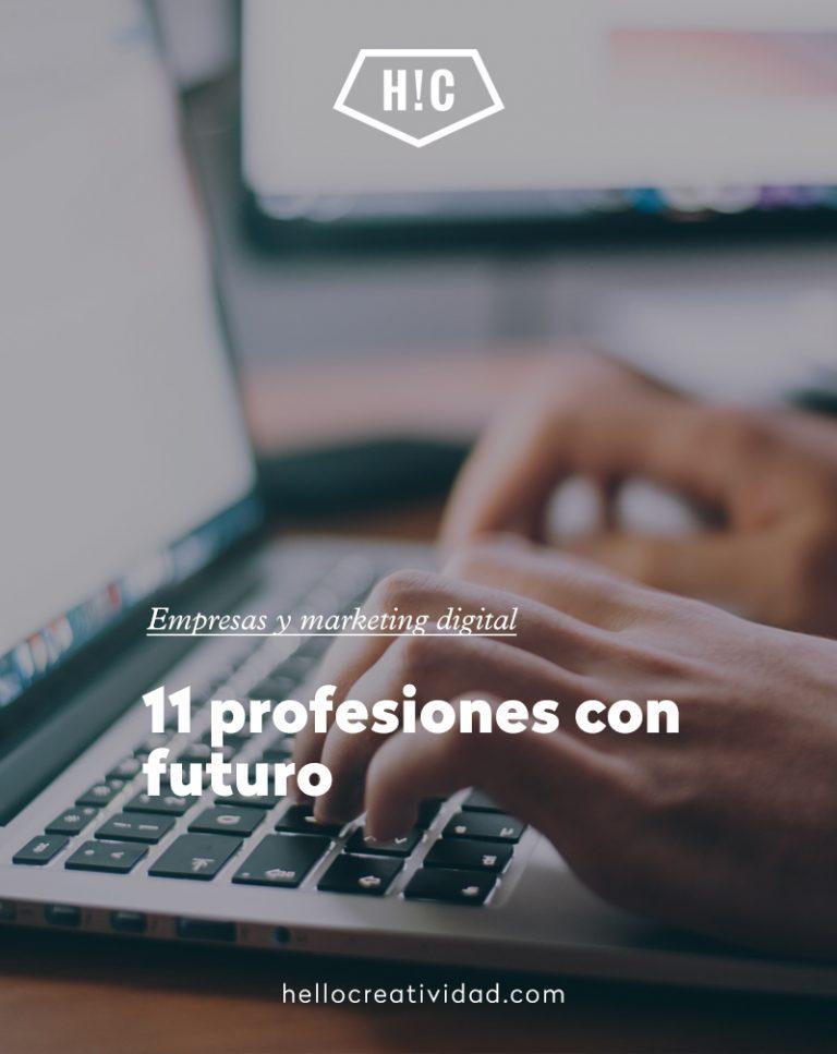 Imagen portada 11 profesiones con futuro