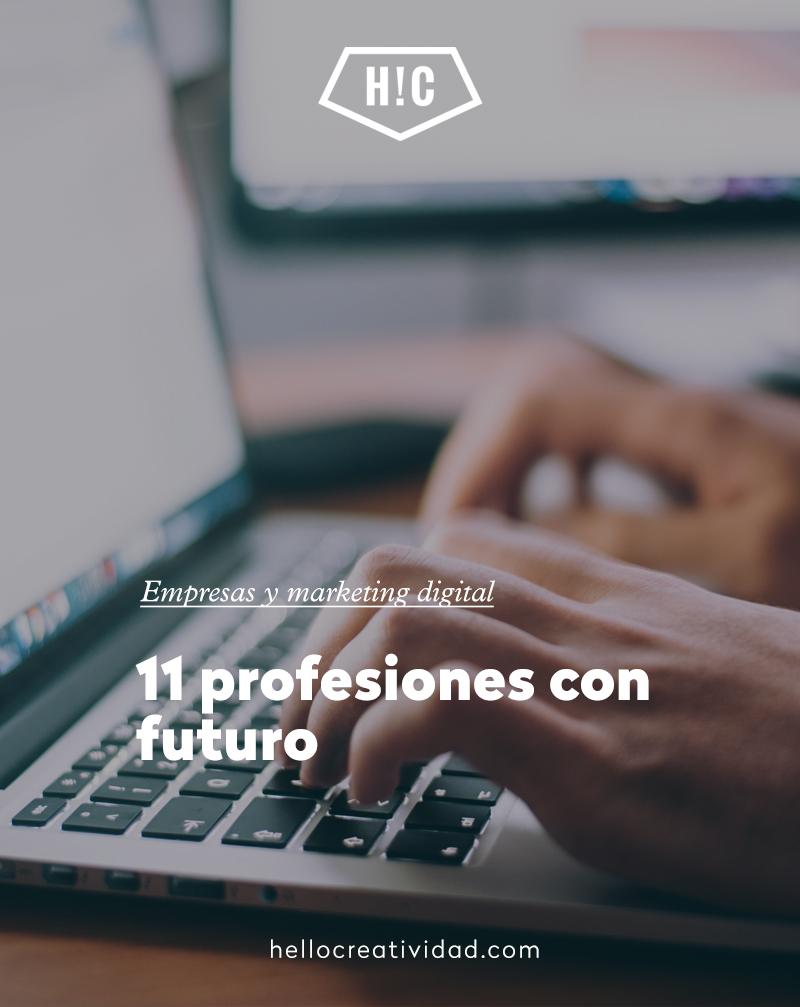 11 profesiones con futuro