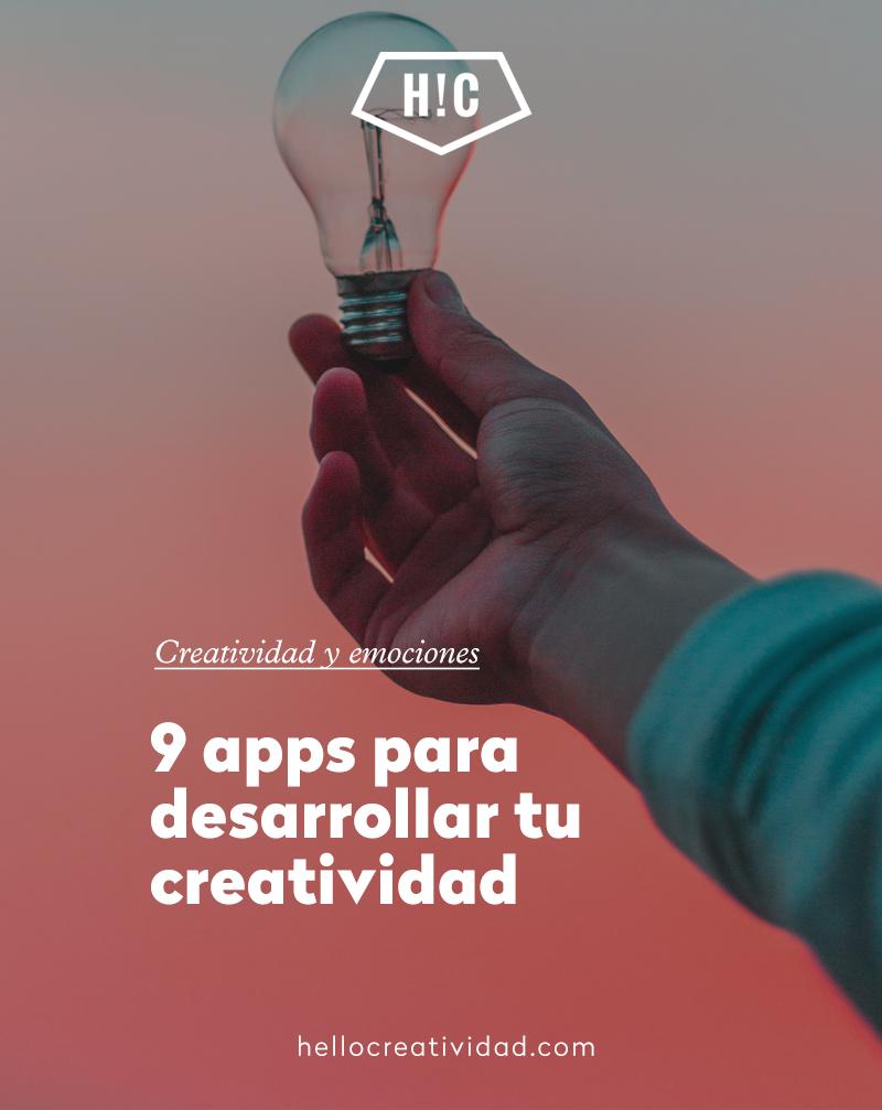 9 Apps para desarrollar tu creatividad