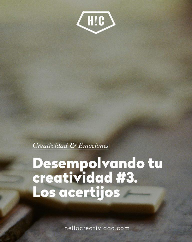 Imagen portada Desempolvando tu creatividad #3. Los acertijos