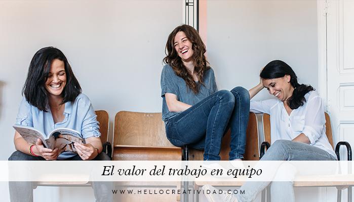 Cómo trabajar en equipo: Hello! Creatividad