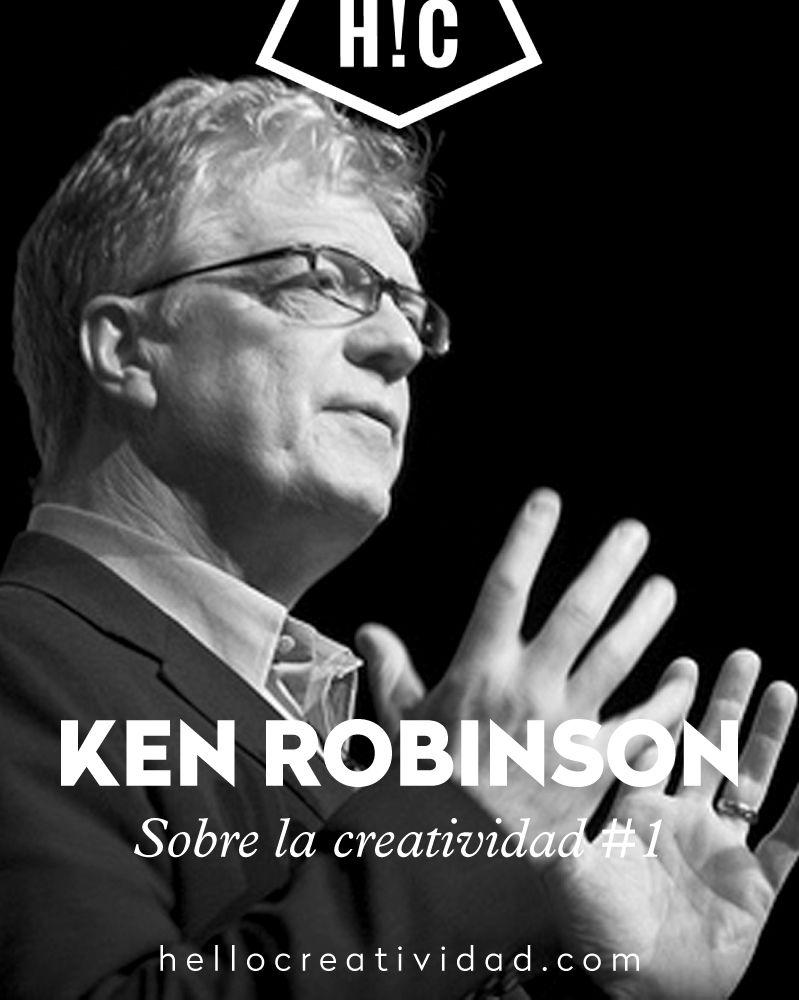 Las 5 claves de Ken Robinson para desarrollar la creatividad