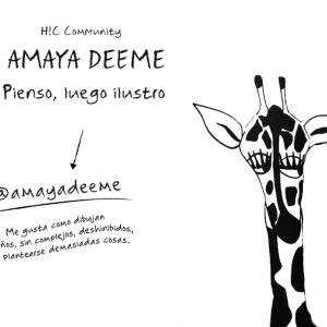 Conociendo a Amaya Deeme, @amayadeeme