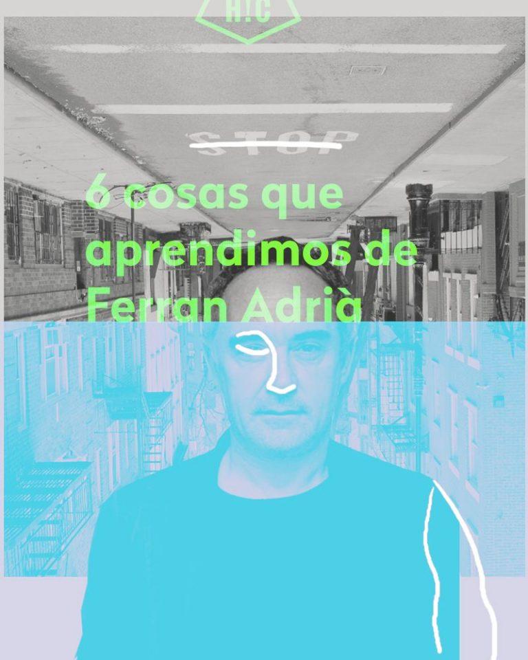 Imagen portada 6 consejos de Ferran Adrià