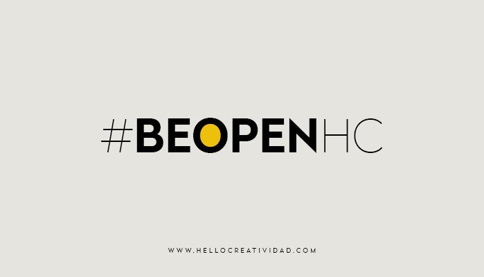 Imagen portada #beopenhc