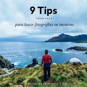 9 tips para hacer fotografías en invierno