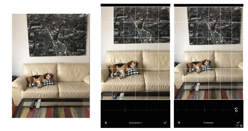 enderezar fotos con vsco - editar fotos con móvil