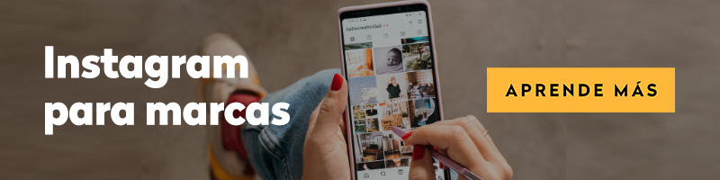 Curso de Instagram para marcas online