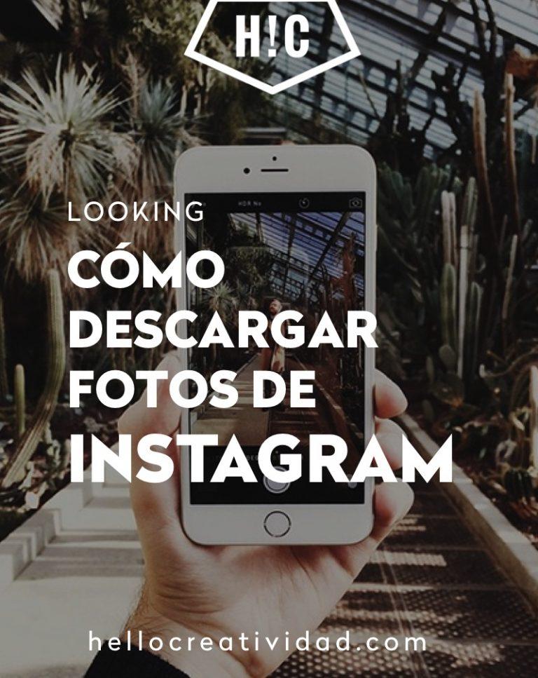Imagen portada Cómo descargar fotos de Instagram