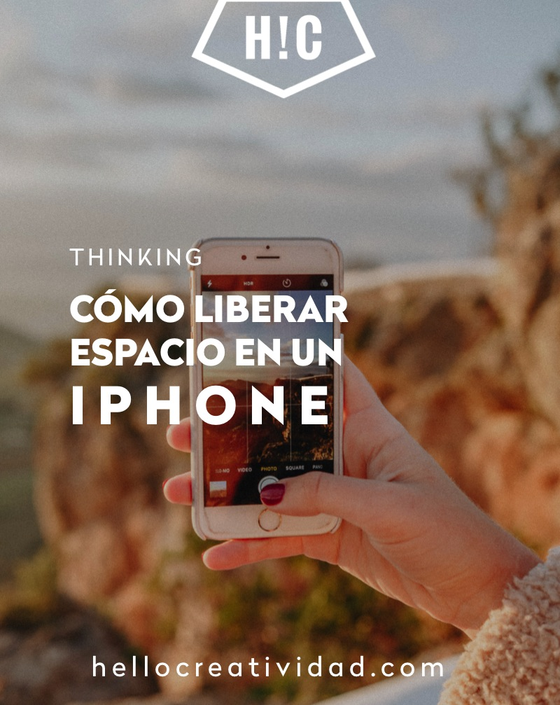 Cómo liberar espacio en IPhone