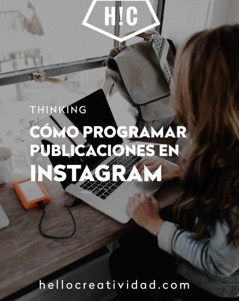 Imagen portada Cómo programar publicaciones en Instagram