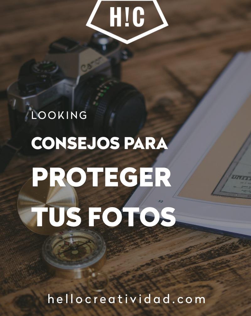 Consejos para proteger tus fotos