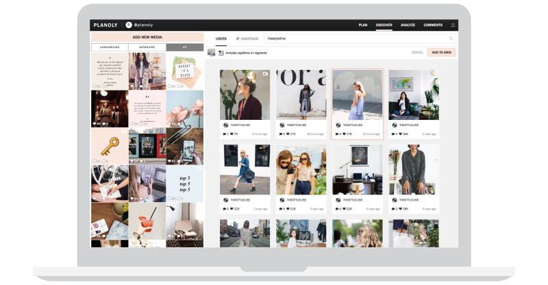 programar publicaciones en instagram con planoly