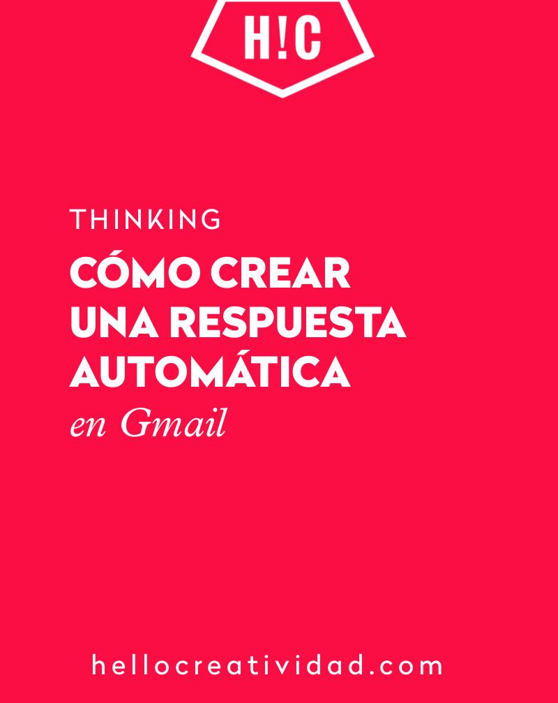 respuesta automatica gmail