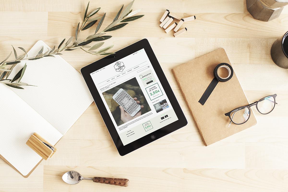 como crear una tienda online - Camper Life