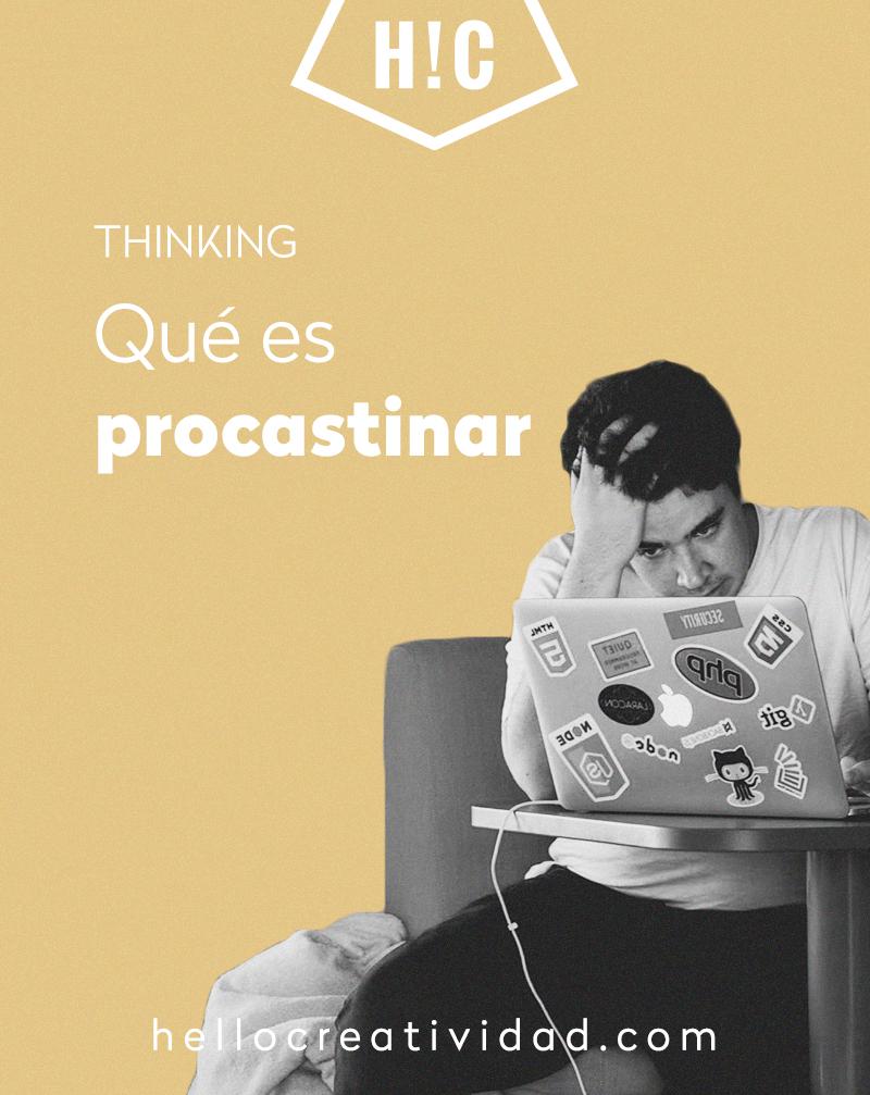 que es procrastinar