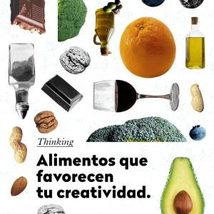8 alimentos para desarrollar la creatividad