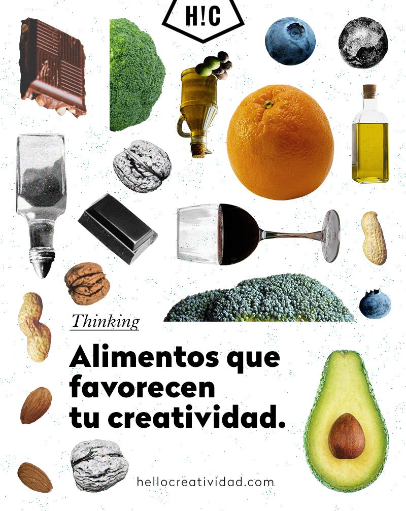 alimentos que favoreven la creatividad