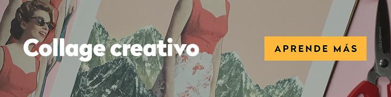 Curso online collage creativo