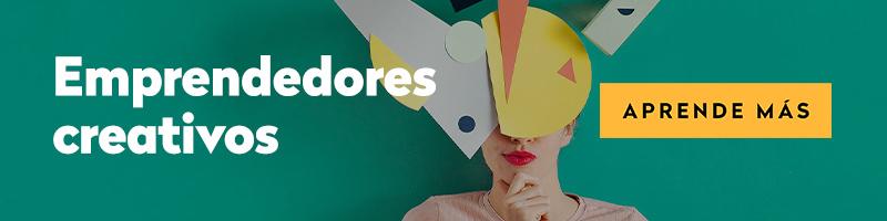 Curso online emprendedores creativos