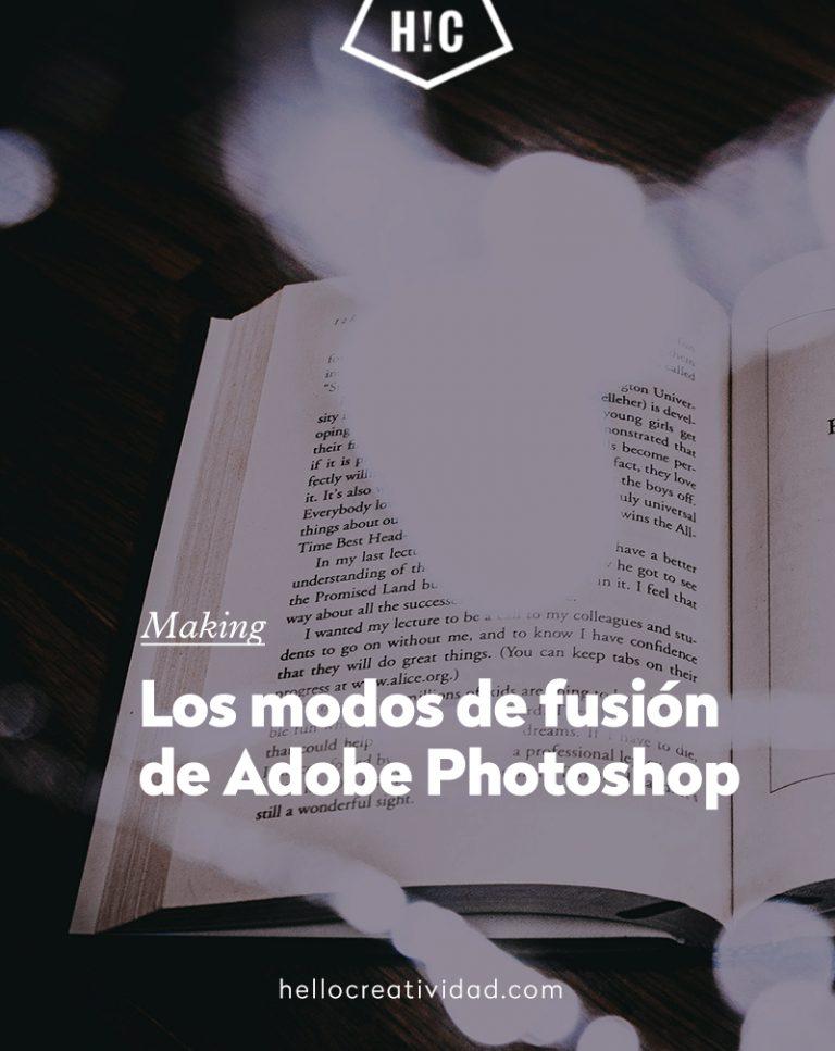 Imagen portada Guía definitiva sobre los modos de fusión en Photoshop