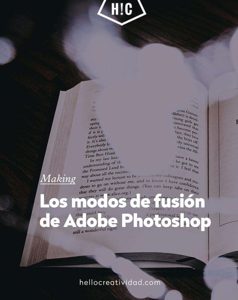 Guía definitiva sobre los modos de fusión en Photoshop