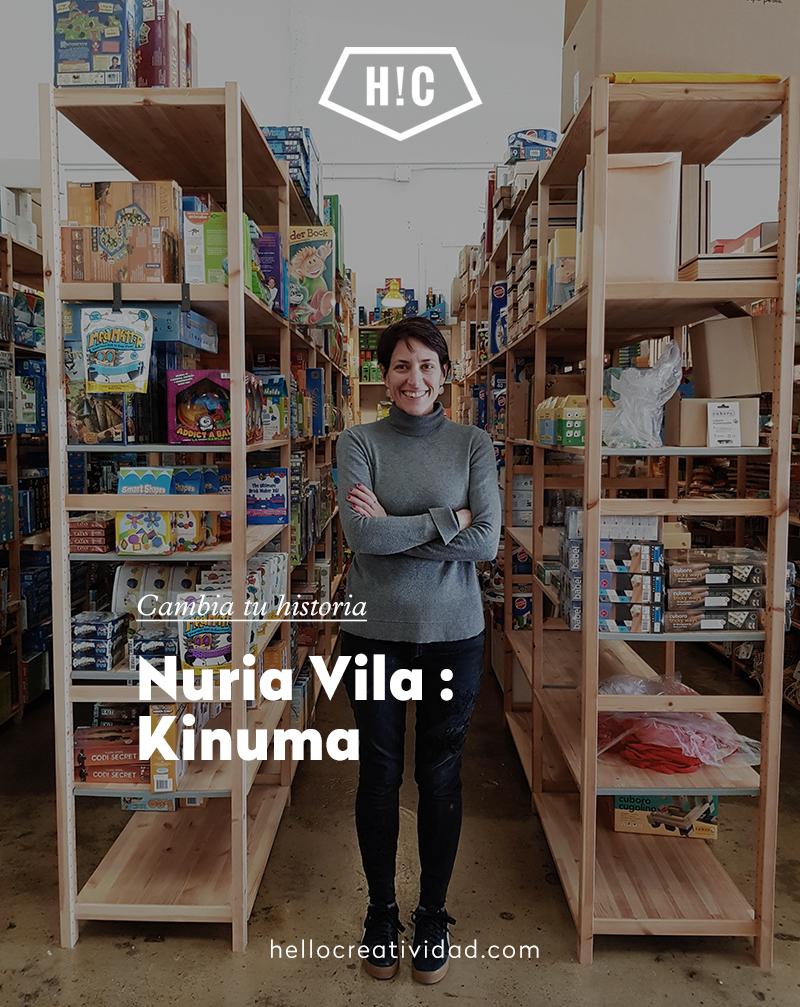Imagen portada Historias de alumnos: Nuria de Kinuma