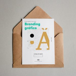 Tarjeta regalo Branding gráfico
