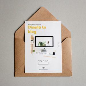 Tarjeta regalo Diseña tu blog
