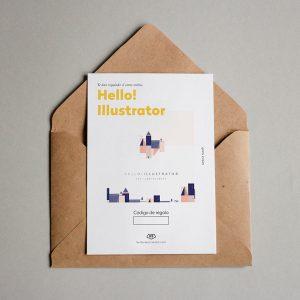 Tarjeta Regalo Hello! Illustrator