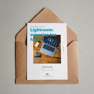 Tarjeta regalo Lightroom: organiza tus fotos