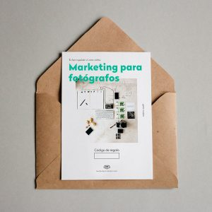 Tarjeta regalo Marketing para fotógrafos