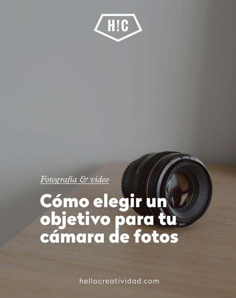 Imagen portada Cómo elegir un objetivo para tu cámara de fotos