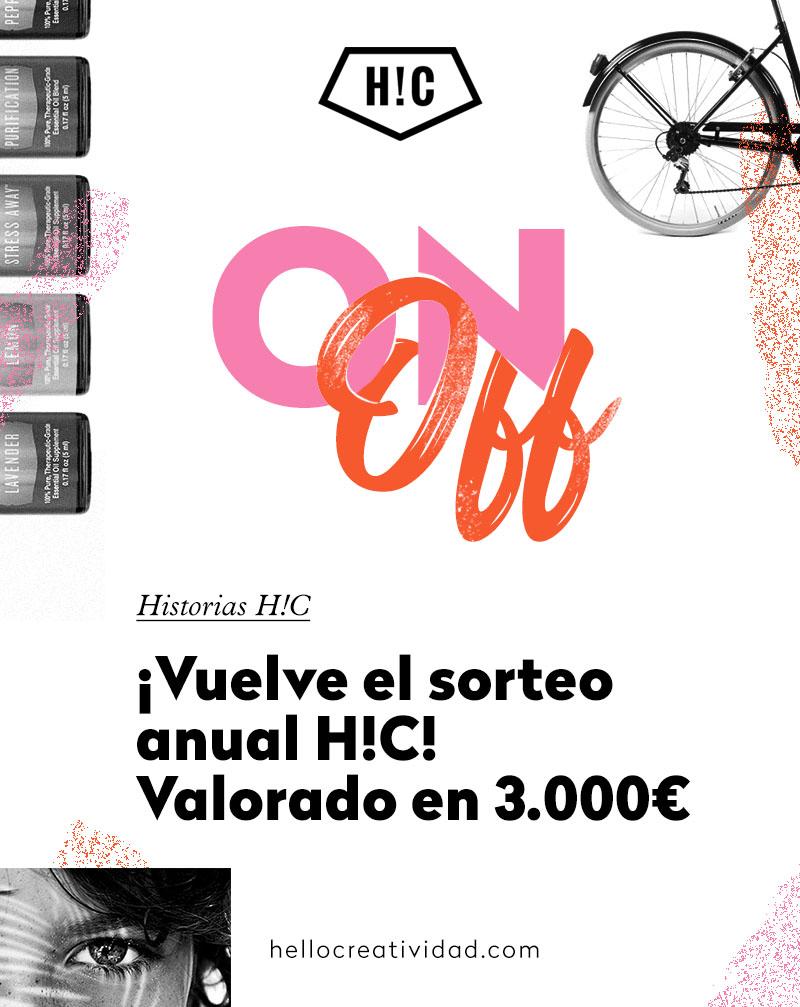 ¡Vuelve el Sorteo anual de H!C! Valorado en 3.000€