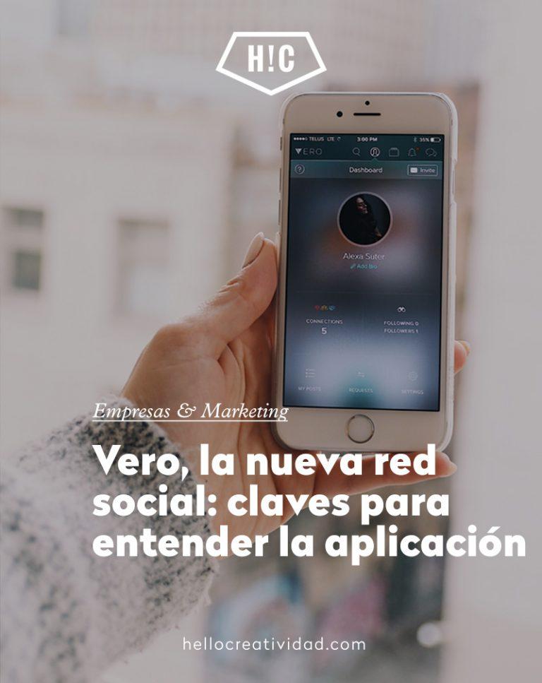 Imagen portada Vero, la nueva red social: claves para entender la aplicación