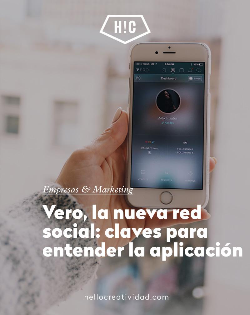 Vero, la nueva red social: claves para entender la aplicación