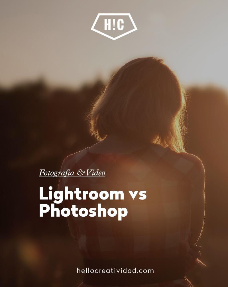 Diferencias entre Lightroom y Photoshop