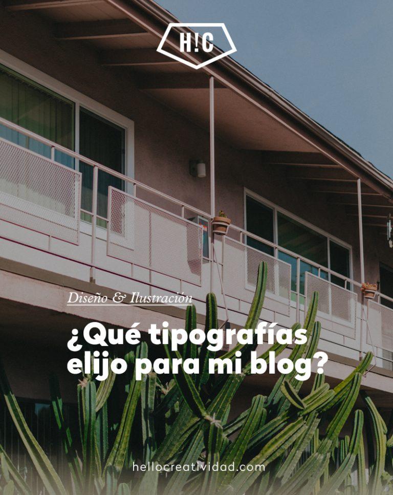 Imagen portada Tipografías gratuitas para tu blog