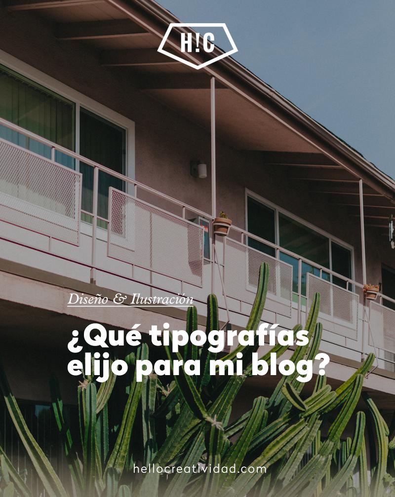 Tipografías gratuitas para tu blog