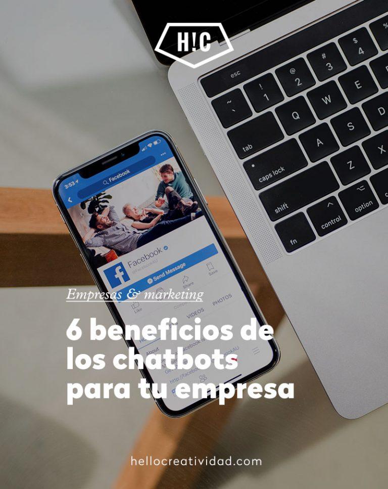 Imagen portada 6 Beneficios de los Chatbots para tu empresa