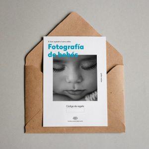 Tarjeta regalo Fotografía de bebés