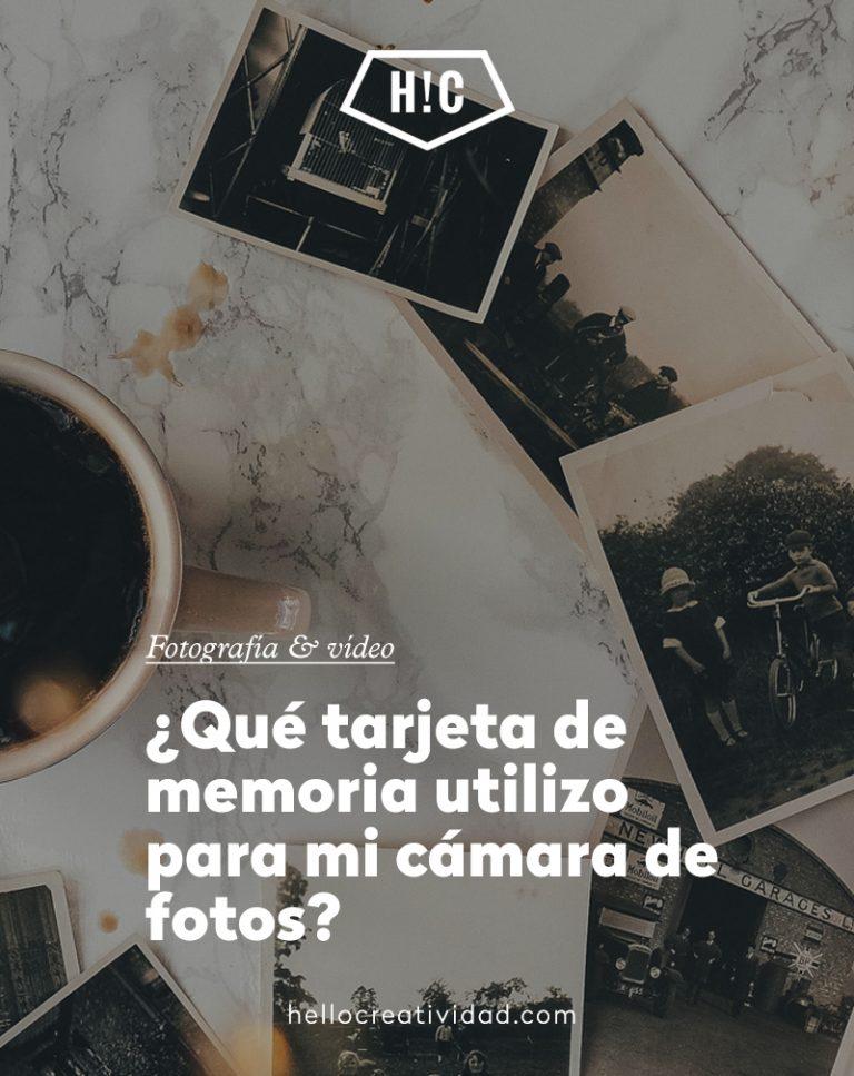 Imagen portada ¿Qué tarjeta de memoria utilizo para mi cámara de fotos?