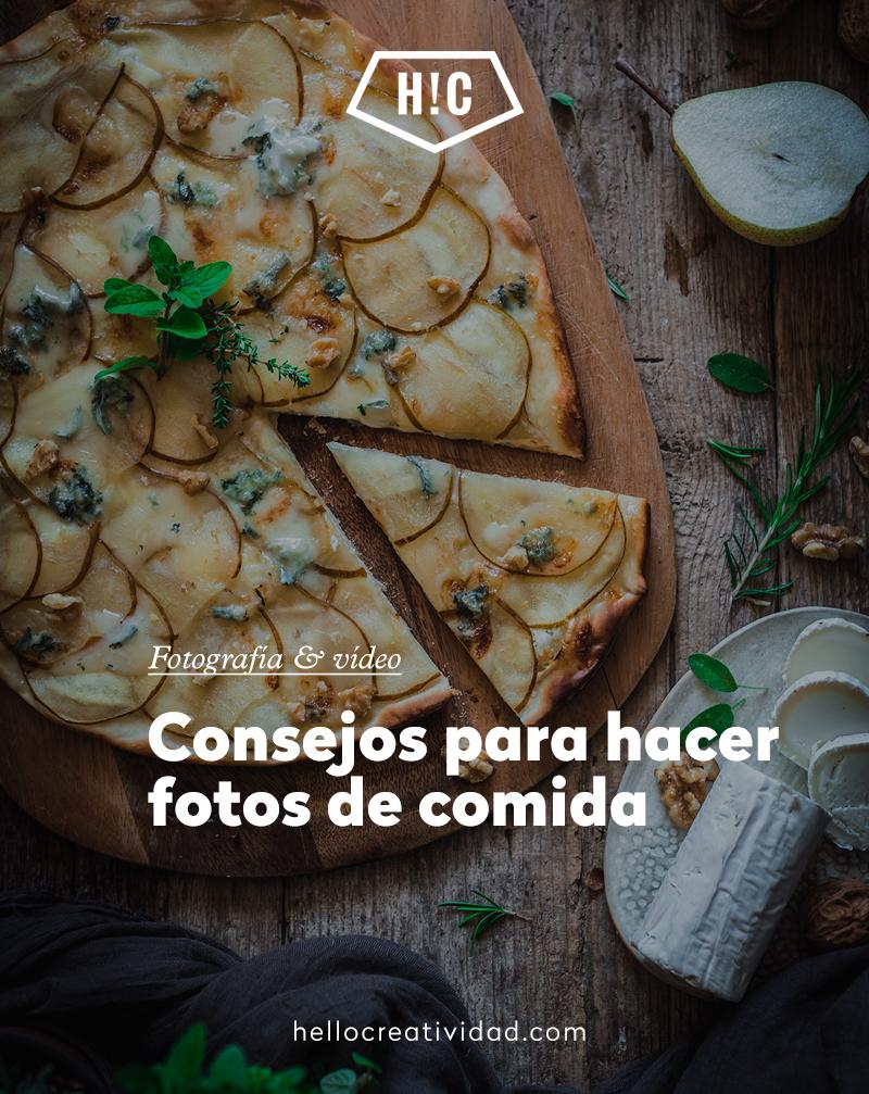Consejos para hacer fotos de comida
