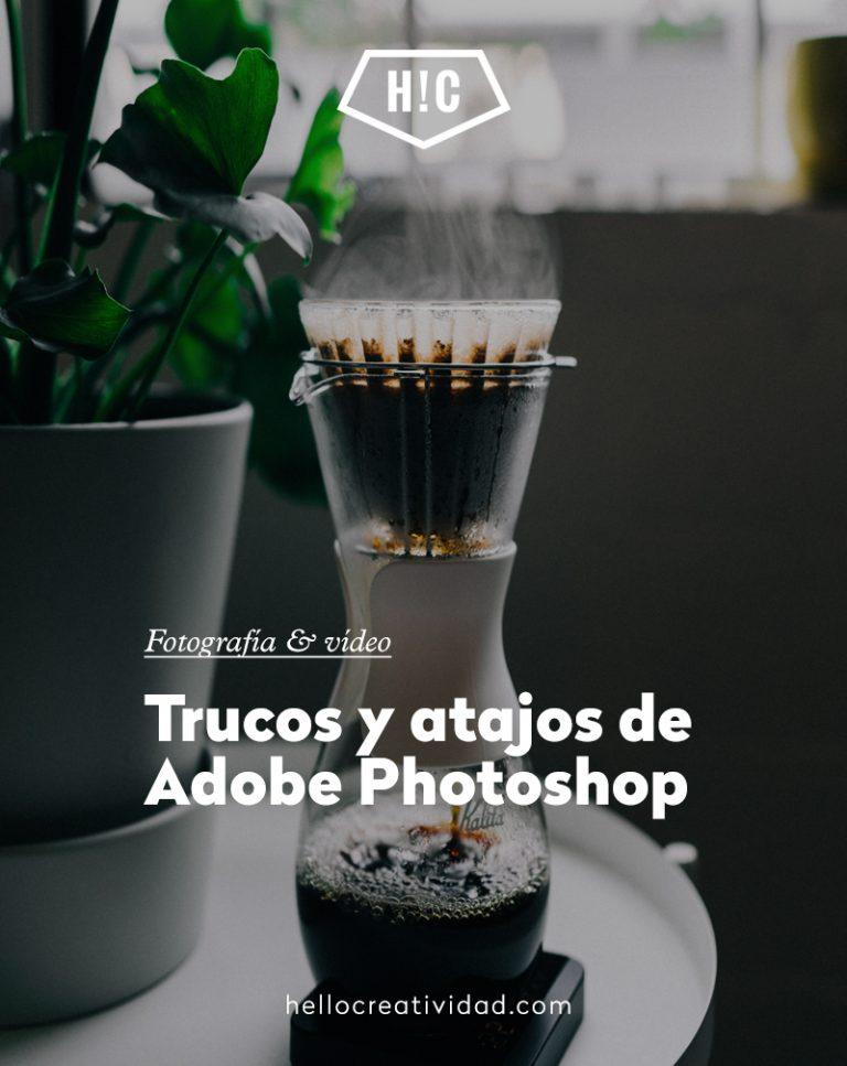 Imagen portada Trucos y atajos de Adobe Photoshop