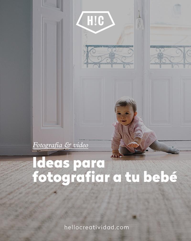 Cómo hacer fotos de bebés más originales