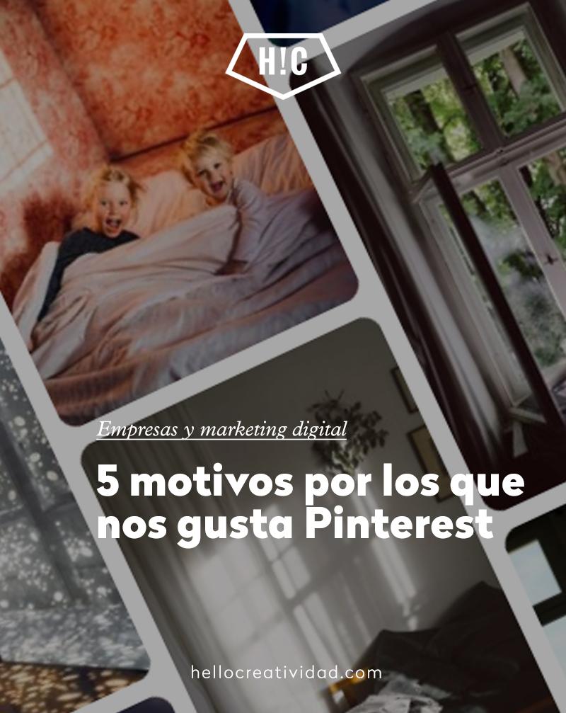 5 motivos para profesionalizar tu Pinterest