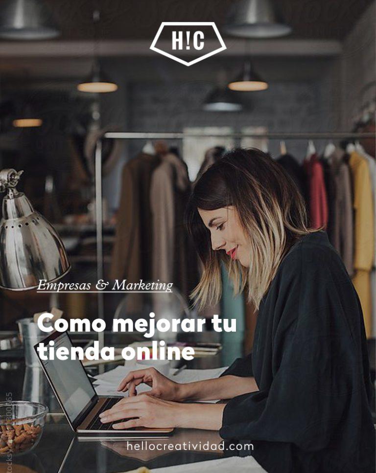 Imagen portada ¿Cómo mejorar mi tienda online?